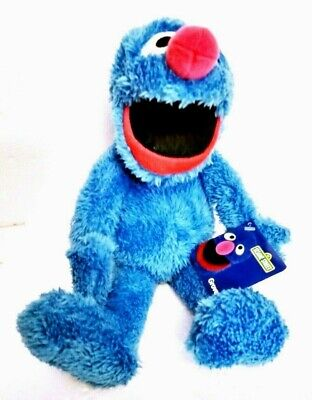 "Kohl's Cares 13"" GROOVER Sesame Street Plush Toy Stuffed Blue Toy Soft"