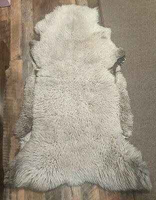 """Genuine Australian Sheepskin Rug 44"""" x 21"""""""