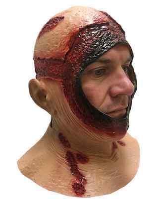 Overhead Jason Bloody Hood Mask Latex Halloween Horror Fancy Dress Costume Masks (Jason Costume)