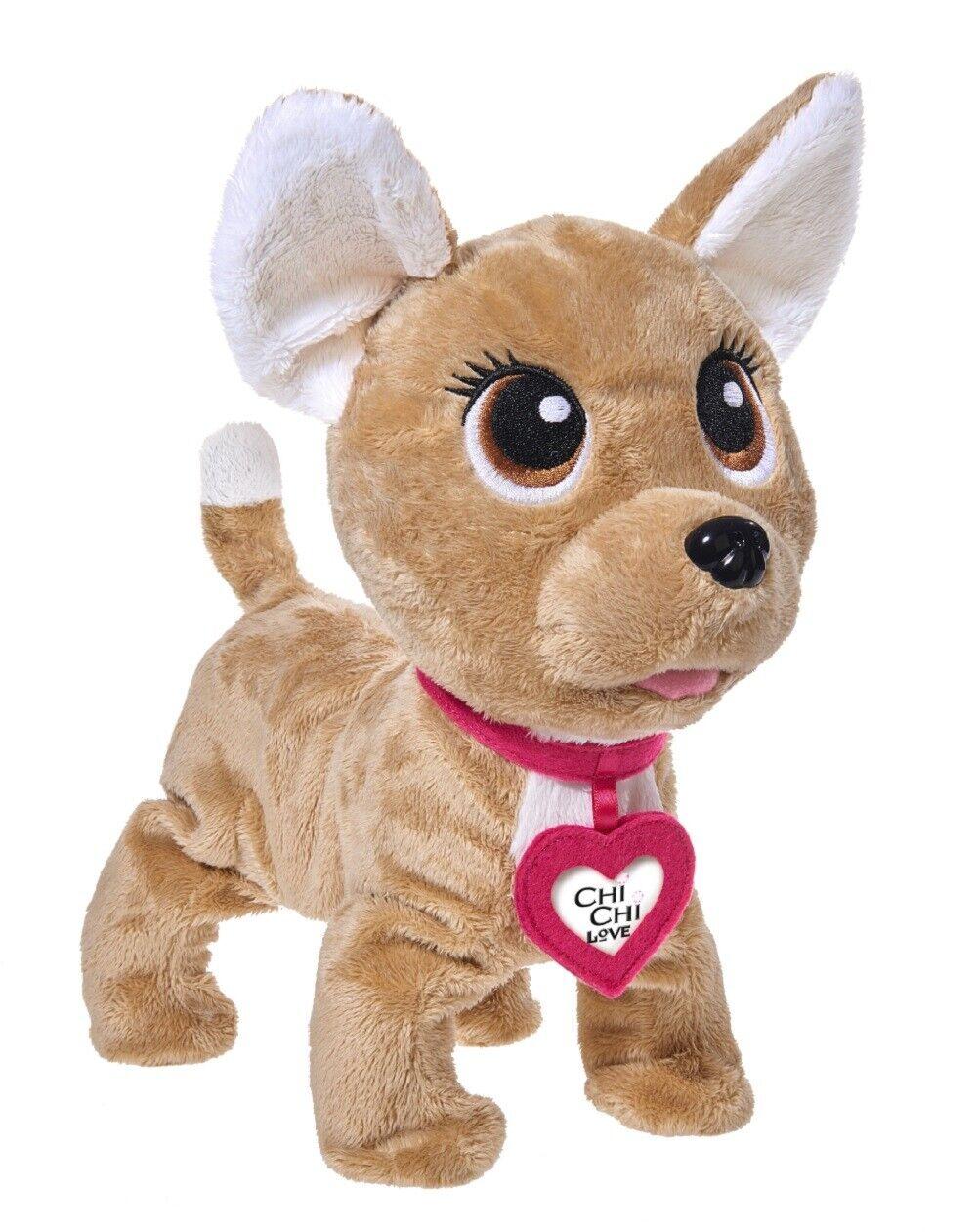 ChiChi Love Happy | interaktiver Spielzeughund ab 5 Jahre | Plüschhund