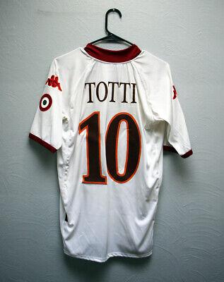 RARE Authentic TOTTI Jersey - AS Roma, Away Kit 09/10 - [M]  09 Away Jersey