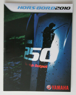 YAMAHA Outboards 2010 dealer brochure - French - Canada - ST2003000418