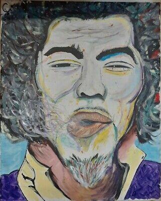 Jimi Hendrix Abstract Art