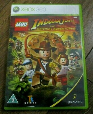Lego Indiana Jones 2 Xbox 360 UK PAL Xbox One Compatible - Complete