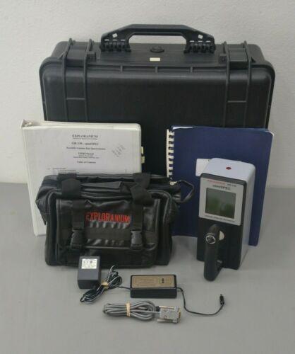 Exploranium GR-130 miniSPEC Portable Gamma Ray Spectrometer Version 5.15ME