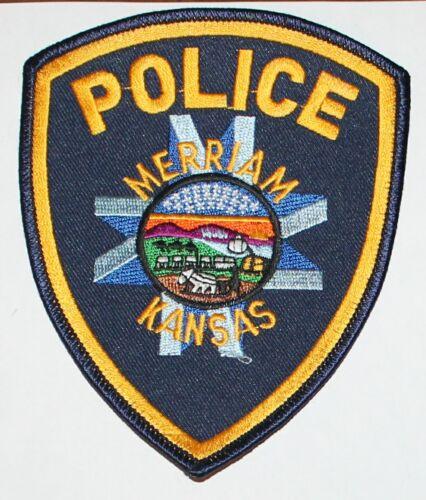 MERRIAM POLICE Kansas KS PD patch