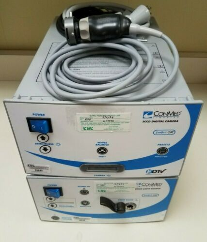 ConMed IM3300 camera console, head & light source in excellent working condition