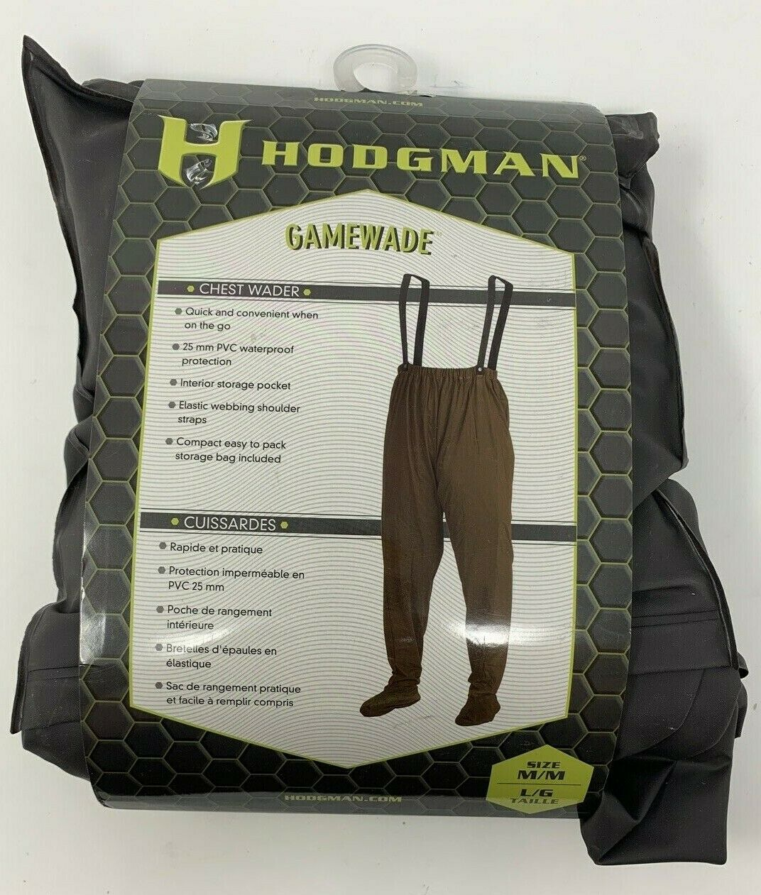 gamewade pvc packable chest wader