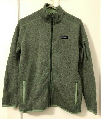 Patagonia Women's Better Sweater Jacket Matcha Green Large L