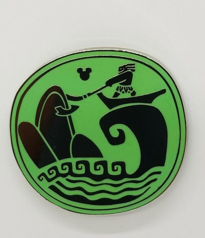 Disney Pin Hidden Mickey Maui Tattoo Pulling Islands from the SEA #131171 TRADE