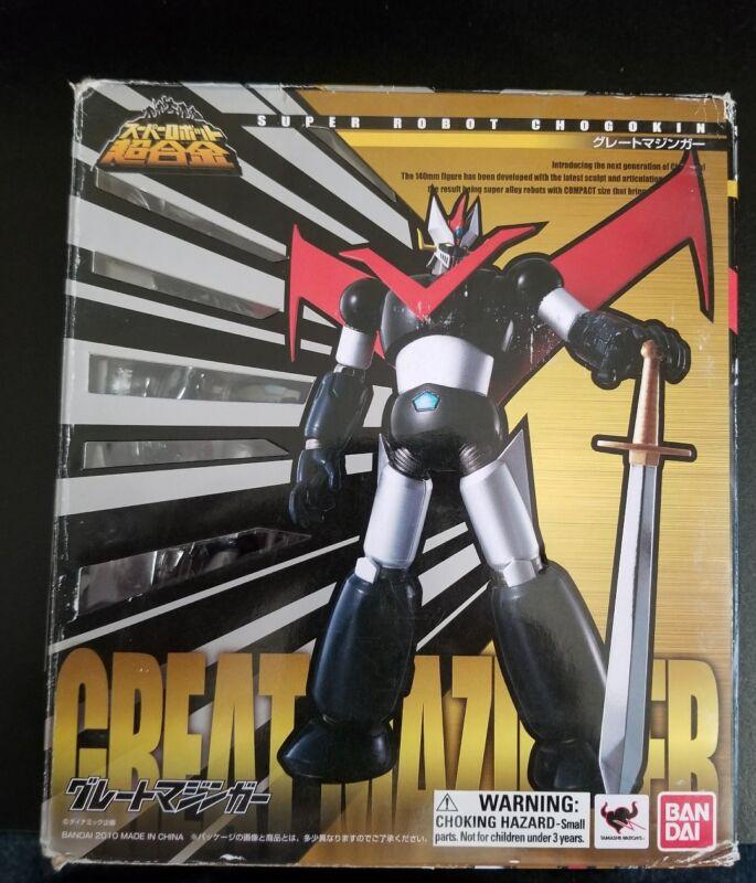 BANDAI Super Robot Chogokin Great Mazinger Action Figure In Stock F/S