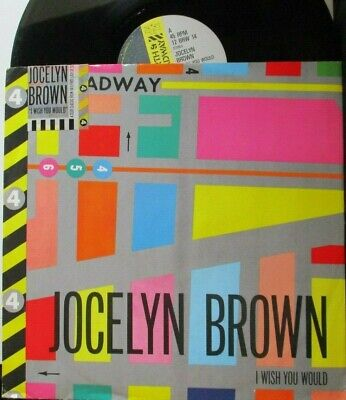 """JOCELYN BROWN ~ I Wish You Would ~ 12"""" Single PS"""