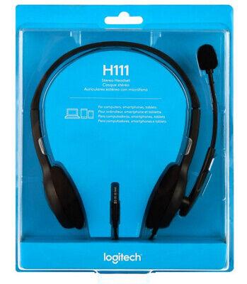 Logitech Stereo Headset H111 segunda mano  Embacar hacia Mexico