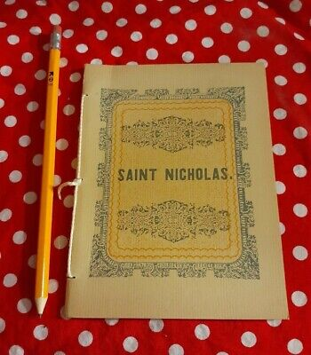 A Visit from St. Nicholas Booklet  Recreation of 1849 Edition Thin pamplet