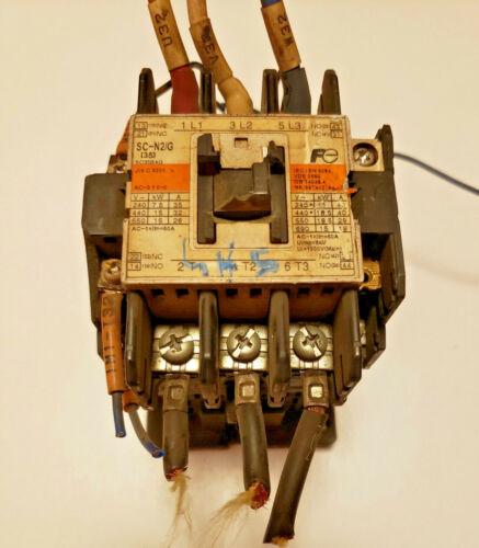 Fuji Electric SC-N2/G Contactor 3GC1Q 60A