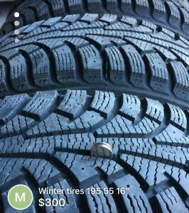 Winter tires nokian 195/55/R16