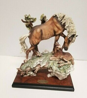 Limited Edition 365/1500 Signed Giuseppe Armani Florence First Days Horse 564s