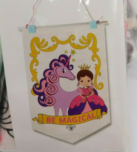 Lot of 8 Creatology Banner Kit Princess Unicorn Ages 3+ New