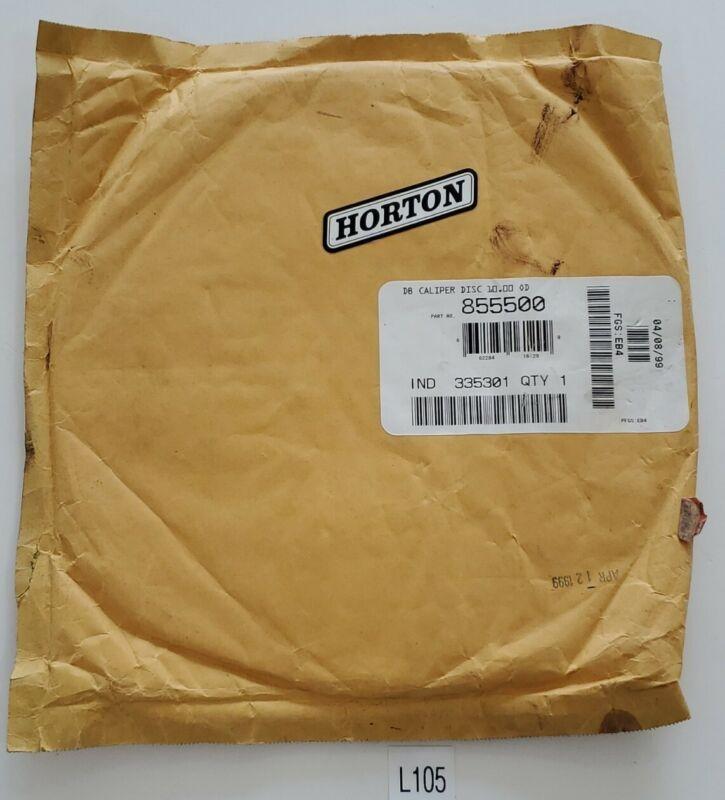 *NEW* Horton Nexen 855500 Brake Disc DB Caliper Disc 10.00 OD + Warranty!