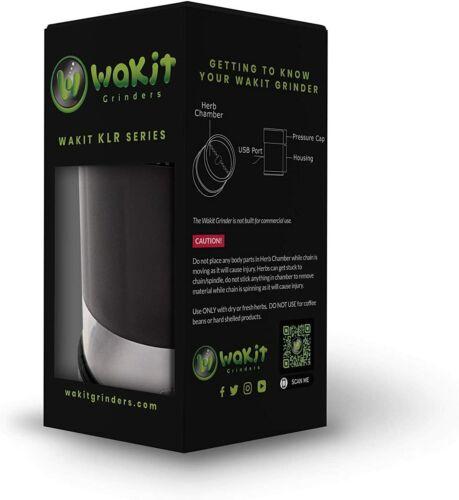 Wakit Grinders Best Electric Herb Grinder KLR Series - KLR Black!