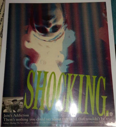 Janes Addiction Original (1988) Nothing Shocking 13X10 Album Release Advert