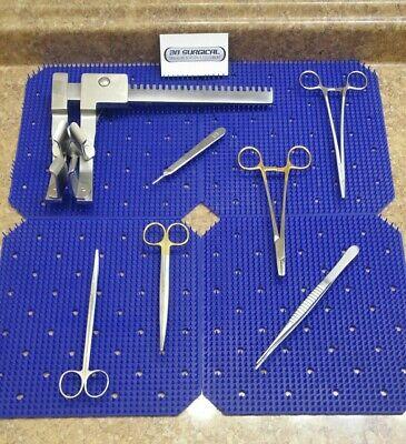Sternal Re-entry Instrument Set Retractor Needle Holder Scissor Debakey Vasc