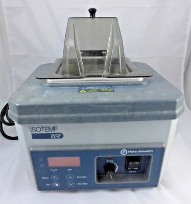 Fisher Isotemp 202 Water Bath Cat 15-462-2 2 L 0-100 C Digital