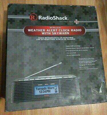 RadioShack Weather Alert Clock Radio With Sky Warn 12-519