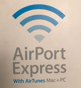 2 x Apple AirPort Express with AirTunes - MAC + PC