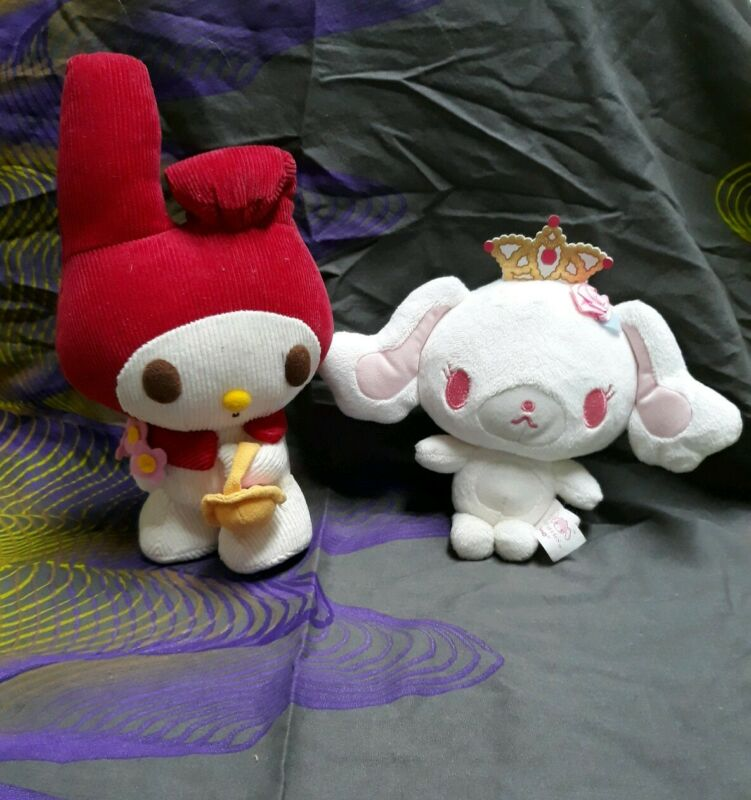 Sanrio Sugarbunnies Plush & My Melody Corduroy Plush Lot Of 2
