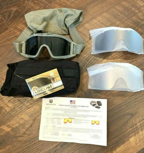 Revision Desert Locust US Military Goggle System 4-0309-9510 Foliage NEW OTHER
