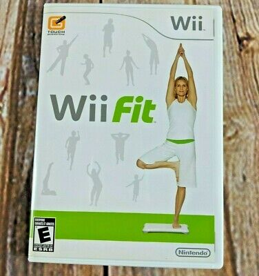 Genuine Nintendo Wii Fit CD Workout Fitness Yoga Complete Fast Free Shipping