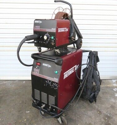 Thermal Arc 281 Fabricator Mig Welding Machine W Thermal A2281 Hose Gun..