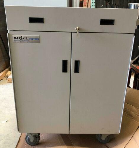 Maxair 2780-06 Air Filtration Storage Cart and 6 Gang Charger