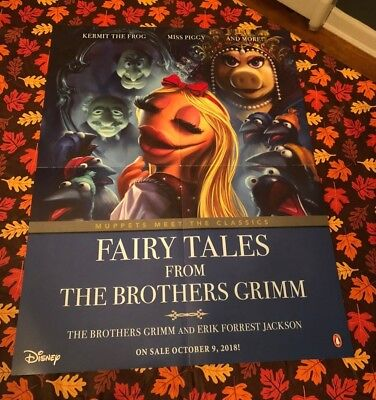 Muppets Poster NYCC Exclusive Fairy Tales from Brothers Grimm Miss Piggy Janice