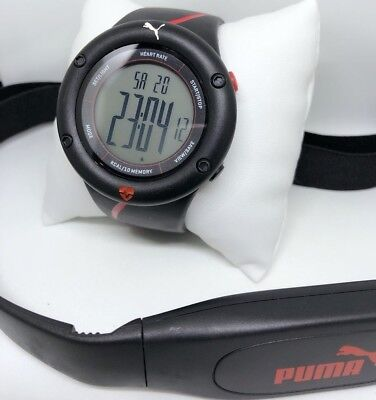 Puma ECG Cardiac 01 Heart Rate Monitor Black Colour Men's Watch PU911361002