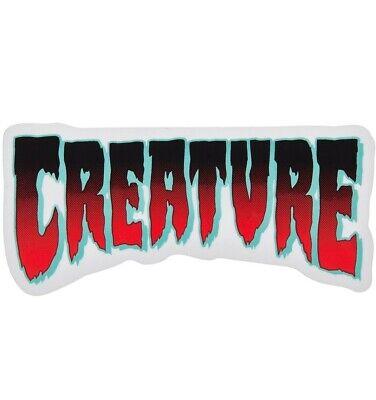 "CREATURE Maniac Bus Skateboard Sticker 4/"""