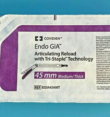 Endo Gia Black Articulating Reload With Tri-staple  45mm Egia45amt X