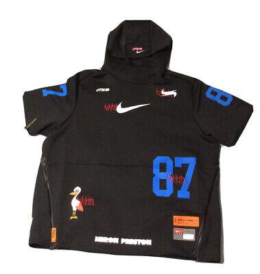 Nike Heron Preston SS Pullover Hoodie Jacket Black Mens 3XL CI2975-010