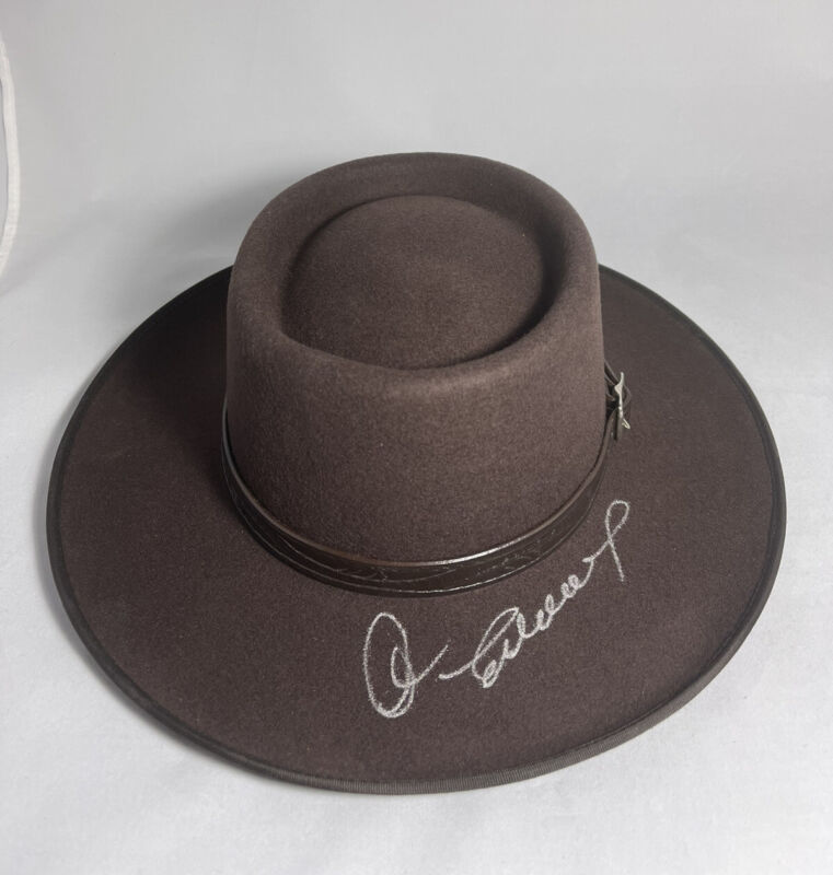 CLINT EASTWOOD SIGNED WESTERN COWBOY HAT THE GOOD, THE BAD AND THE UGLY BAS LOA