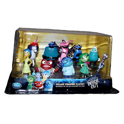 Disney Pixar Inside Out Figure Set Anger Disgust Joy Fear Sadness Bing Bong