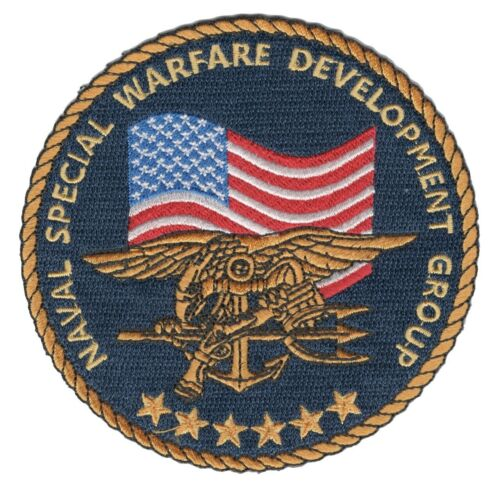 """4"""" NAVY SEAL SPECIAL WARFARE DEVELOPMENT GROUP EMBROIDERED TRIDENT  PATCH"""