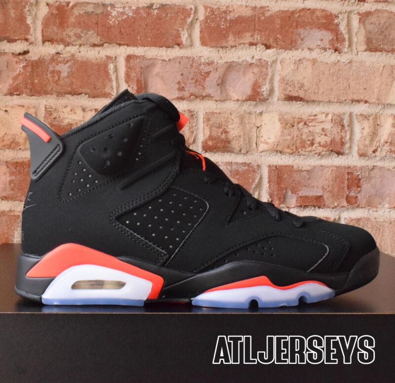 95f90c5ce2beb8 2019 Nike Air Jordan 6 VI Retro Black Infrared 384664-060