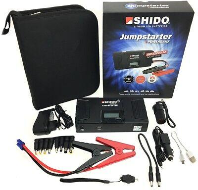 Shido Jumpstarter IMF12000-12 36Wh 600A Starthilfe Booster Powerbank Auto KFZ 300a Jump Starter