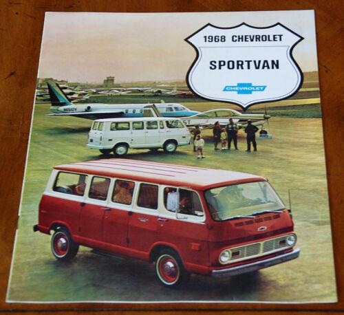 Chevrolet Sportvan brochure Prospekt, 1968