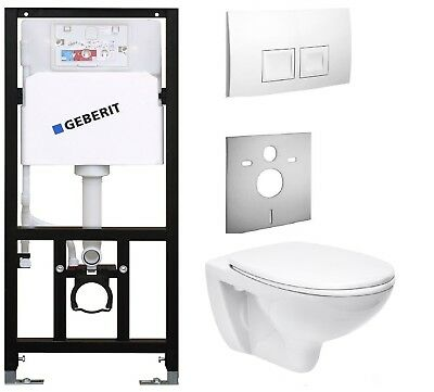 WC  Element  mit Spülkasten Geberit Wand WC  Vorwandelement Toilette