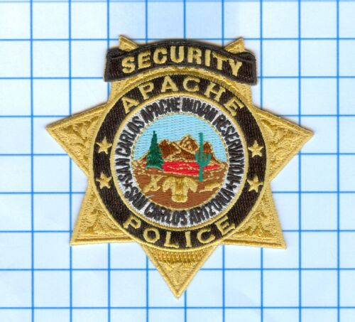 Patch  - Arizona -San Carlos Apache Indian Reservation - Security Police