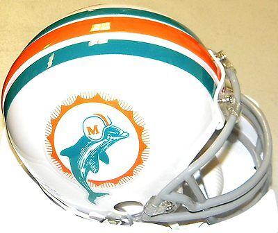 Miami Dolphins 1972 Z2B Riddell NFL Football Replica Throwback Mini Helmet ()