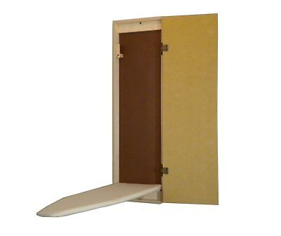Enclosure MOUNT / RECESSED UNFINISHED BUILT-IN  IRONING BOARD HIDE AWAY STOW AWAY
