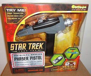 star trek phaser replica ebay
